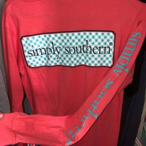 simply southern long sleeve t shirt